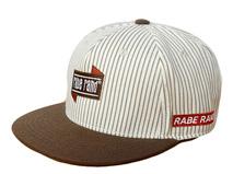 凯维帽业-时尚条纹3D绣平板帽 PT232
