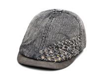 凯维帽业-2015新款韩版洗水做旧时尚潮流牛仔鸭舌帽EM081