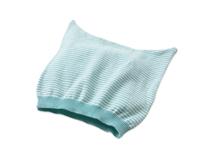 凯维帽业-婴儿海军条纹针织布套头帽AM067