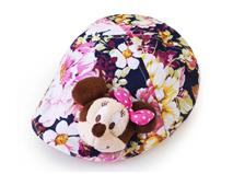 凯维帽业-儿童碎花米老鼠可爱鸭舌帽定做RM129