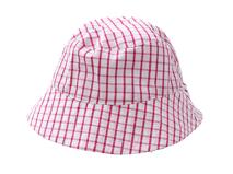 凯维帽业-儿童时尚格子遮阳帽定做RM225