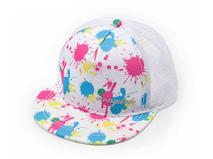凯维帽业-画笔涂鸦儿童网帽 平板帽定做 RM227