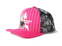 凯维帽业-卡通小鸟条纹印花五页棒球网帽定做RM230