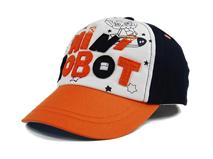 凯维帽业-儿童撞色拼接贴布绣五页棒球帽 RM231