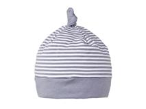 凯维帽业-新款儿童 婴儿条纹全棉套头帽定做 RM234