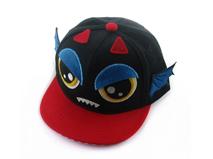 凯维帽业-儿童撞色拼接卡通动物棒球帽定做 RM237