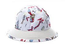 凯维帽业-新款儿童印花户外遮阳帽 小清新款定做RM249