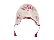 黑白视频体育直播-婴儿新款春夏绣花套头帽RM273