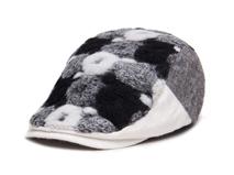黑白视频体育直播-设计款撞色拼接时装鸭舌帽 急帽EM088