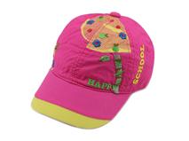 凯维帽业-儿童拼接绣花字母户外遮阳棒球帽 RM283