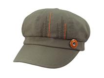凯维帽业-儿童时尚潮流纯色简约时装鸭舌帽RM288