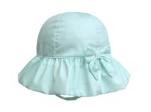 凯维帽业-女孩小清新款纯色简约蝴蝶结春夏遮阳帽RM292