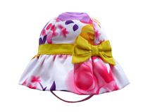 凯维帽业-小清新款儿童花朵印花遮阳户外渔夫帽RM293