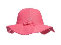 凯维帽业-小女孩纯色大檐沙滩遮阳渔夫帽RM302