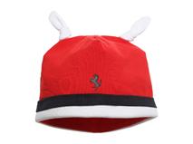 凯维帽业-儿童撞色拼接可爱耳朵套头帽RM303