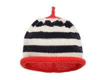 凯维帽业-尖顶条纹针织套头帽 儿童 广州加工定做RM305