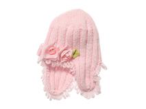 凯维帽业-冬天护耳保暖玫瑰花儿童针织帽 RM317