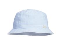 凯维帽业-小清新款纯色简约条纹儿童遮阳渔夫边帽RM318