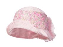 凯维帽业-儿童丝带印花大蝴蝶结可折边渔夫边帽RM319