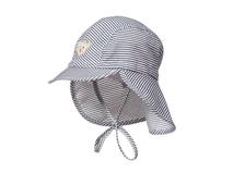 黑白视频体育直播-户外丛林遮阳帽 儿童 卡通条纹渔夫帽RM326