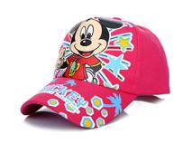凯维帽业-卡通印花遮阳帽 运动棒球帽RM343