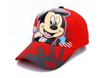 凯维帽业-米老鼠可爱遮阳棒球帽 外贸出口定做RM344