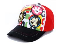 凯维帽业-米老鼠绣花印花棒球帽加工订制 春夏 儿童RM345