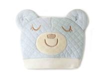 凯维帽业-卡通小熊贴布绣花时尚菱格可爱套头帽订做 RM368