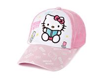 凯维帽业-五页棒球帽外贸加工订做 Hello KittyRM370