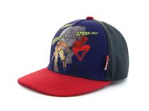 凯维帽业-撞色拼接可爱卡通超人印花五页棒球帽RM398