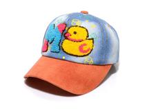 凯维帽业-毛巾绣花字母牛仔棒球帽订制定做RM404