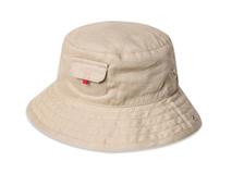 凯维帽业-简约纯色 小口袋 小孩渔夫边帽RM427