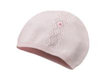 凯维帽业-儿童小清新款纯色针织帽外贸定做加工RM429