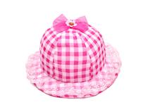 凯维帽业-蕾丝花边格子女童渔夫边帽 RM439