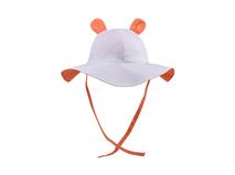 黑白视频体育直播-儿童全棉高端耳朵可爱夏季户外遮阳渔夫边帽RM440