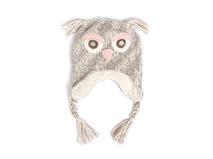 凯维帽业-猫头鹰儿童新款针织毛线帽RM441