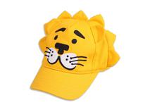 凯维帽业-黄色卡通老虎绣花儿童棒球帽RM442