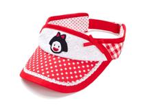 凯维帽业-点点女童遮阳空顶帽 RM448
