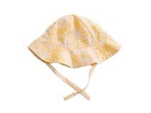 凯维帽业-黄色小女孩印花夏季遮阳盆帽RM467
