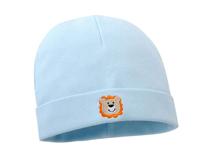 凯维帽业-全棉绣花高端简约婴儿套头帽AM077