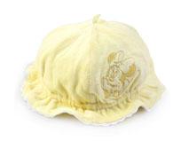 凯维帽业-女童黄色秋冬保暖渔夫帽加工生产AM095