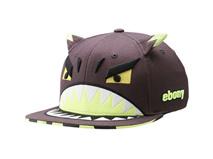 凯维帽业-儿童怪物卡通绣花平额嘻哈帽 RM491