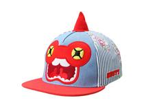 凯维帽业-条纹绣花印花混搭嘻哈平额帽RM494