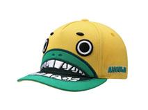 凯维帽业-卡通绣花怪物牙齿遮阳棒球帽RM495