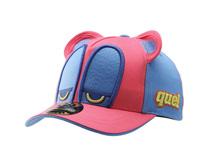凯维帽业-新款撞色拼接卡通棒球帽RM497