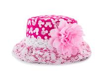 凯维帽业-蕾丝花边小女孩米老鼠印花盆帽RM512
