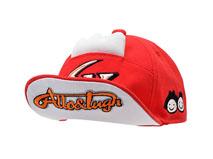 凯维帽业-新款儿童驳接绣花嘻哈平沿帽 RM525
