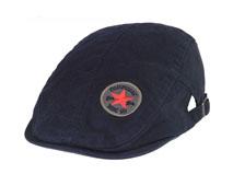 黑白视频体育直播-单色简约新款鸭舌帽 EM099