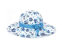 凯维帽业-小女孩夏季沙滩遮阳大边渔夫帽RM538