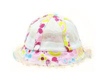 凯维帽业-小女孩网布拼接透气渔夫小边帽定制RM550